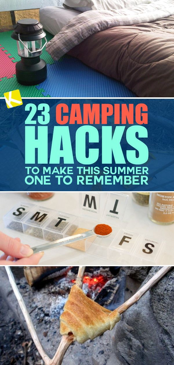 Photo of 23 Camping Hacks to Make This Summer One to Remember