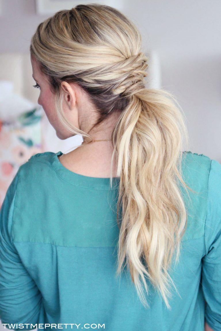Three Easy Hair Tutorials | Pretty hairstyles, Easy hairstyles, Lavender hair dye