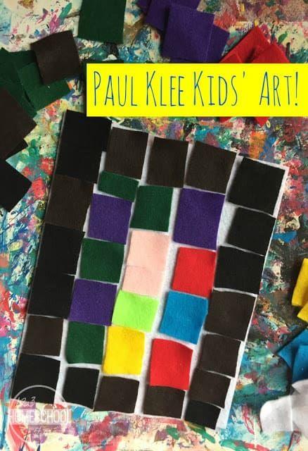 Photo of Paul Klee Kids Art | 123 Homeschool 4 Me
