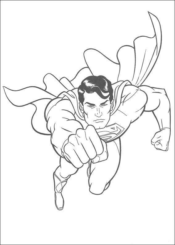 Superman Ausmalbilder 29 | Ausmalbilder für kinder | Pinterest ...