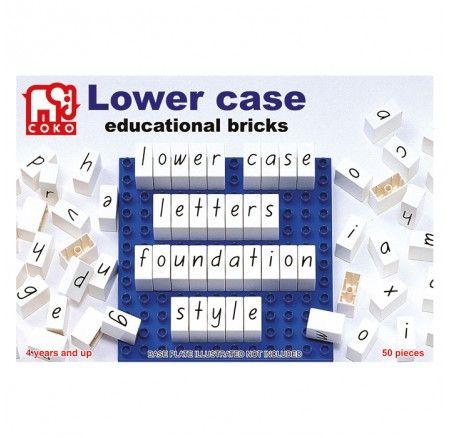 Foundation script lowercase coko letters