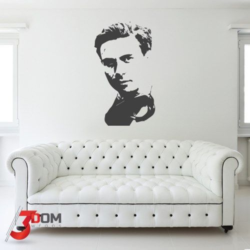 Jim Clark Legend wall decal, a stunning piece of vinyl artwork by 3Dom Wraps