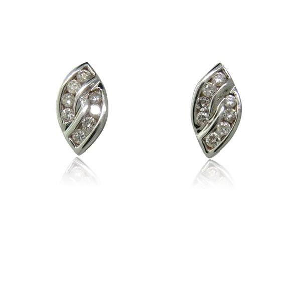 14K Gold Diamond Earrings Available on our July 21st Auction @ hamptonauction.com