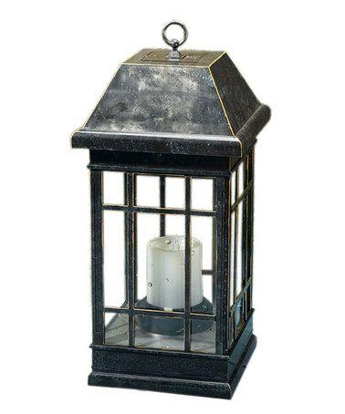 Look at this #zulilyfind! Smart Solar Hanging Lantern #zulilyfinds