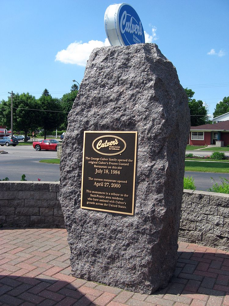 Original Culver S Restaurant Monument Sauk City Wisconsin
