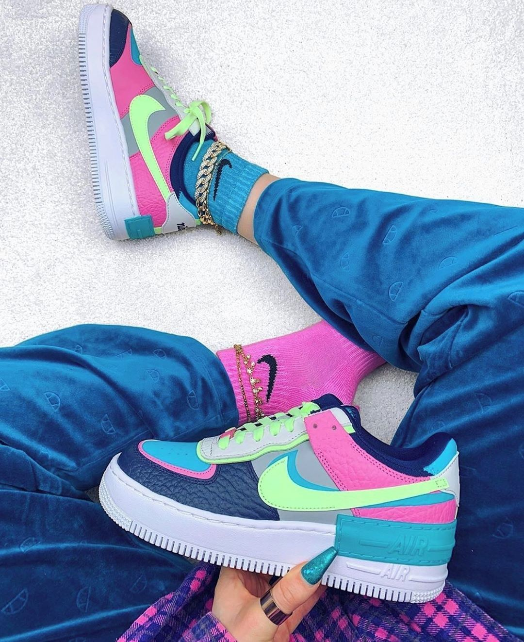 NEW NIKE AIR FORCE 1 SHADOW R3 COLORS