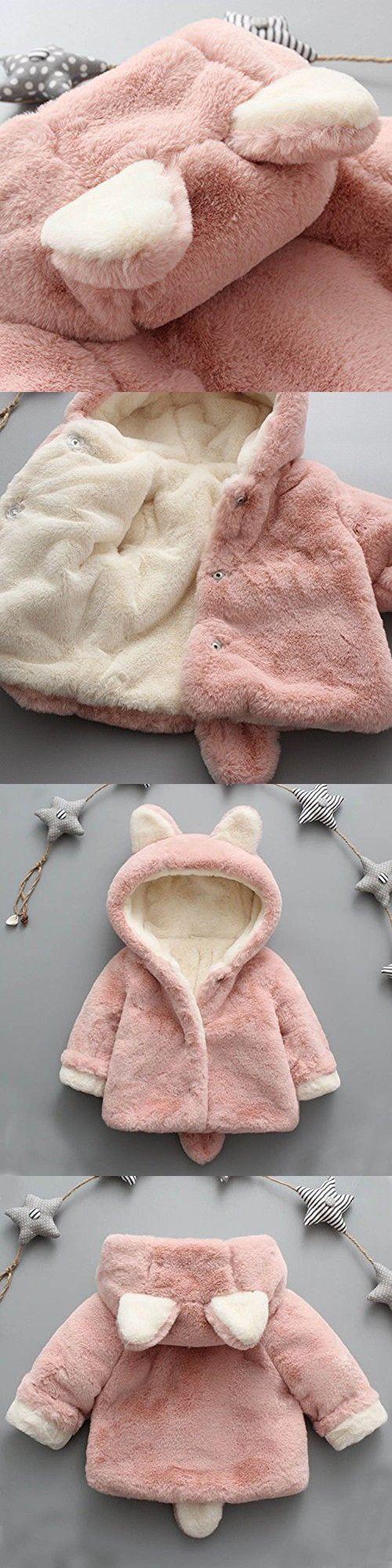 02e2d373a Fabal Baby Infant Girls Boys Autumn Winter Hooded Coat Cloak Jacket ...