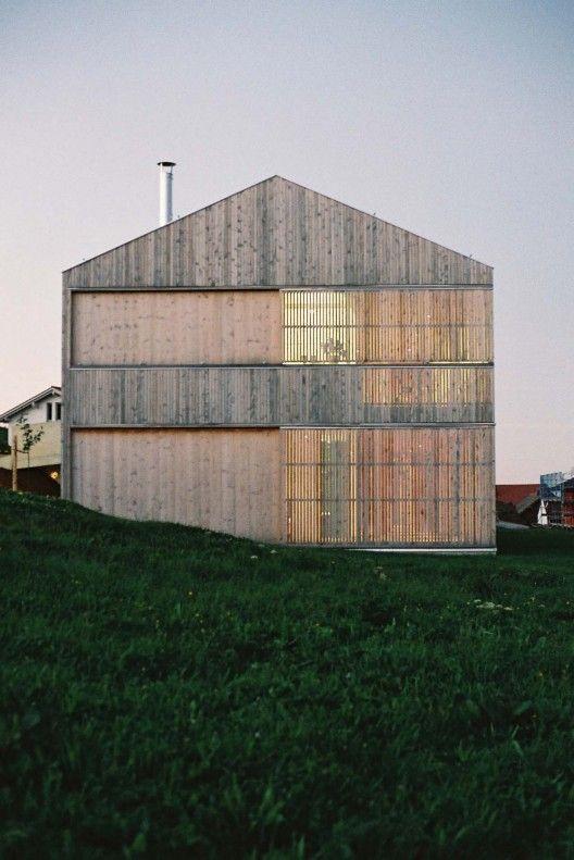 House S Becker Architekten Arquitectura Arquitectura Casas