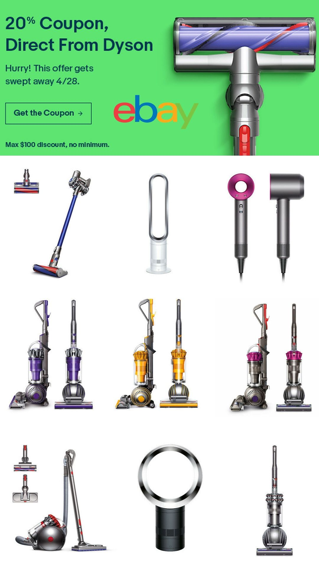 20 Coupon Direct From Dyson Code Jump2dyson Now Thru 4 28 19 Best Appliances Dyson Heater Fan