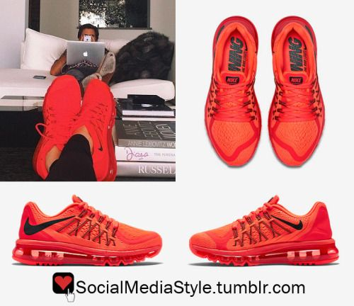 Kendall Jenner's Bright Red Nike