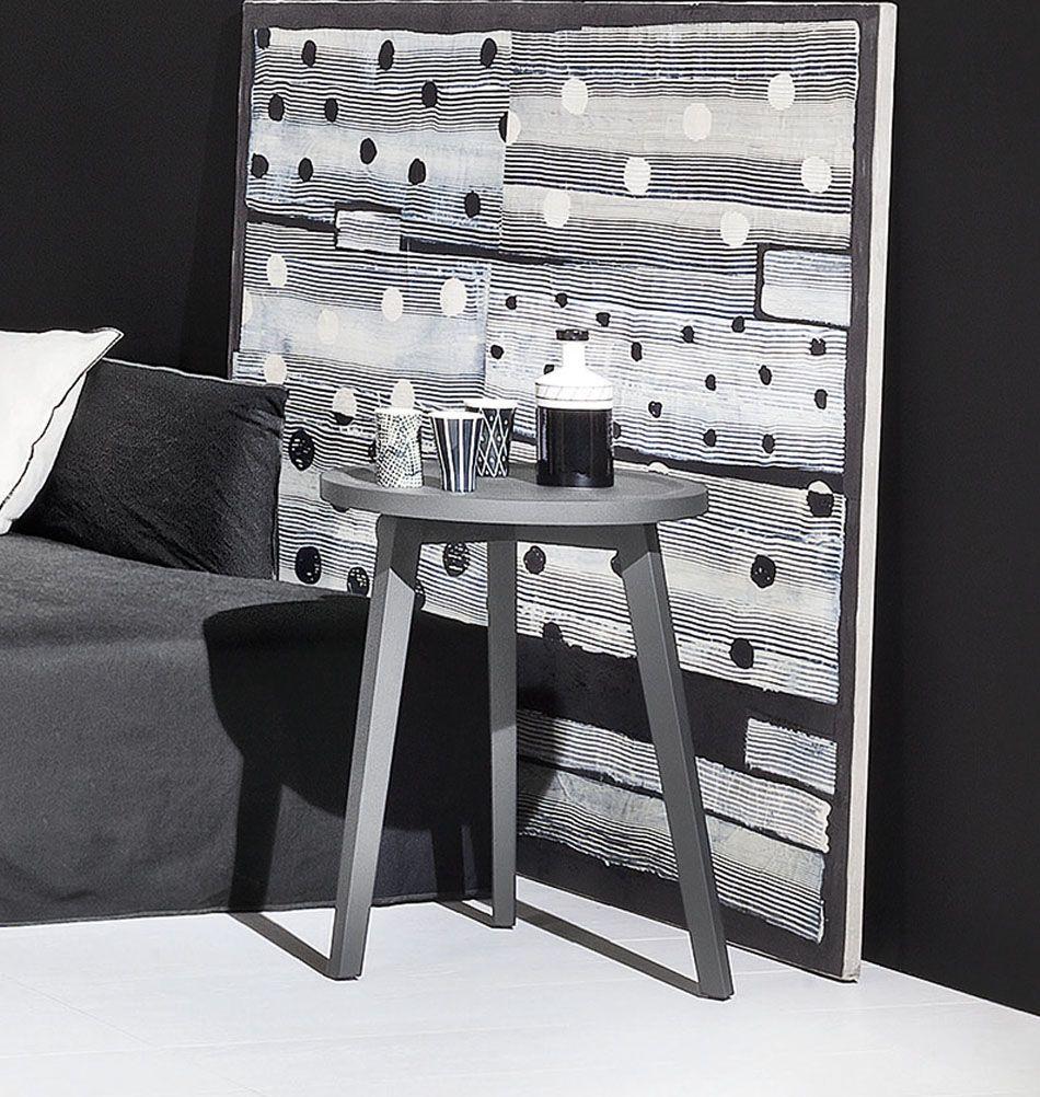 Designer Beistelltisch Grau Gervasoni Online Kaufen Beistelltisch Grau Wohnzimmertische Italienische Mobel