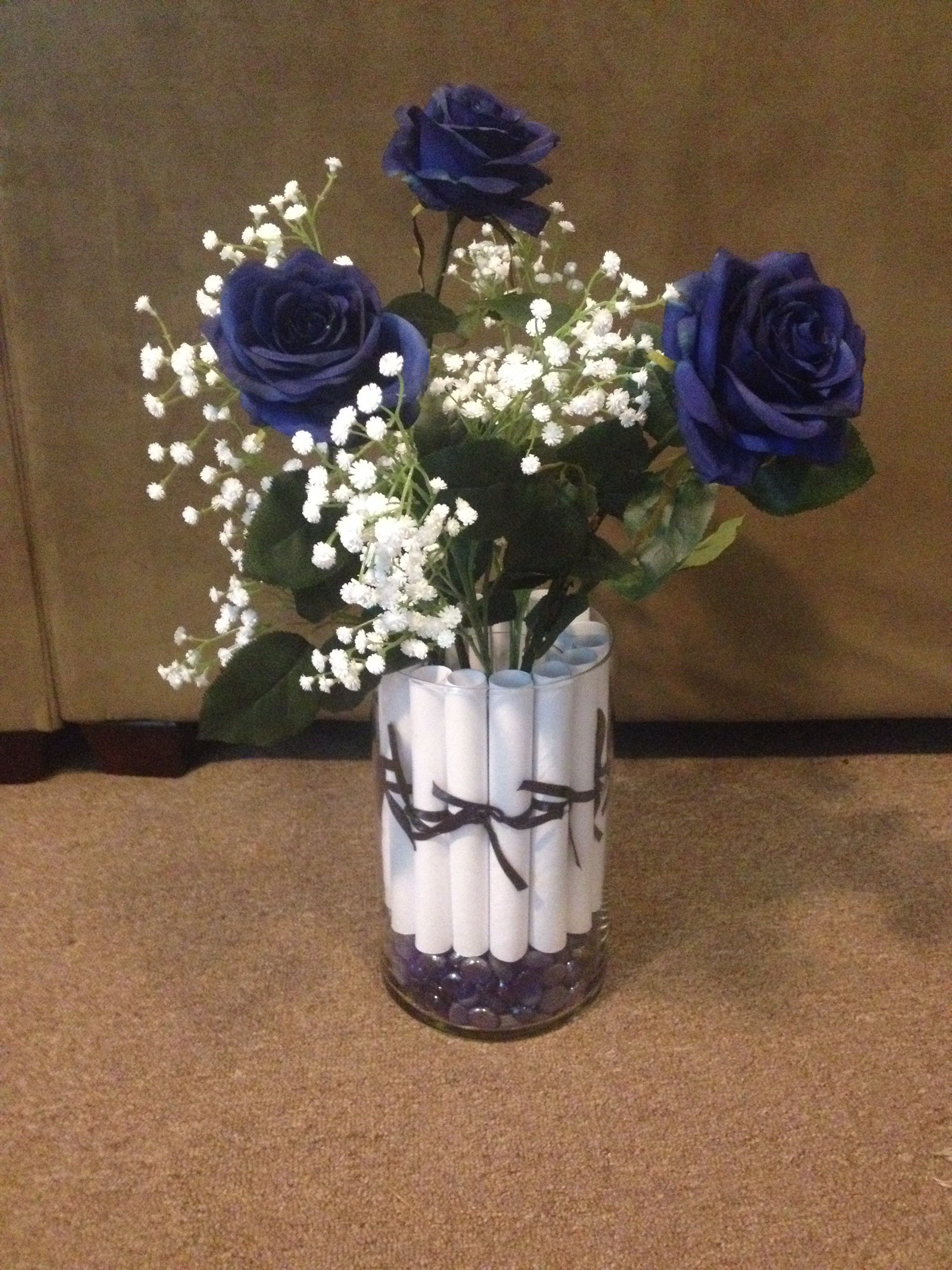 penn state centerpiece my completed pinterest projects. Black Bedroom Furniture Sets. Home Design Ideas