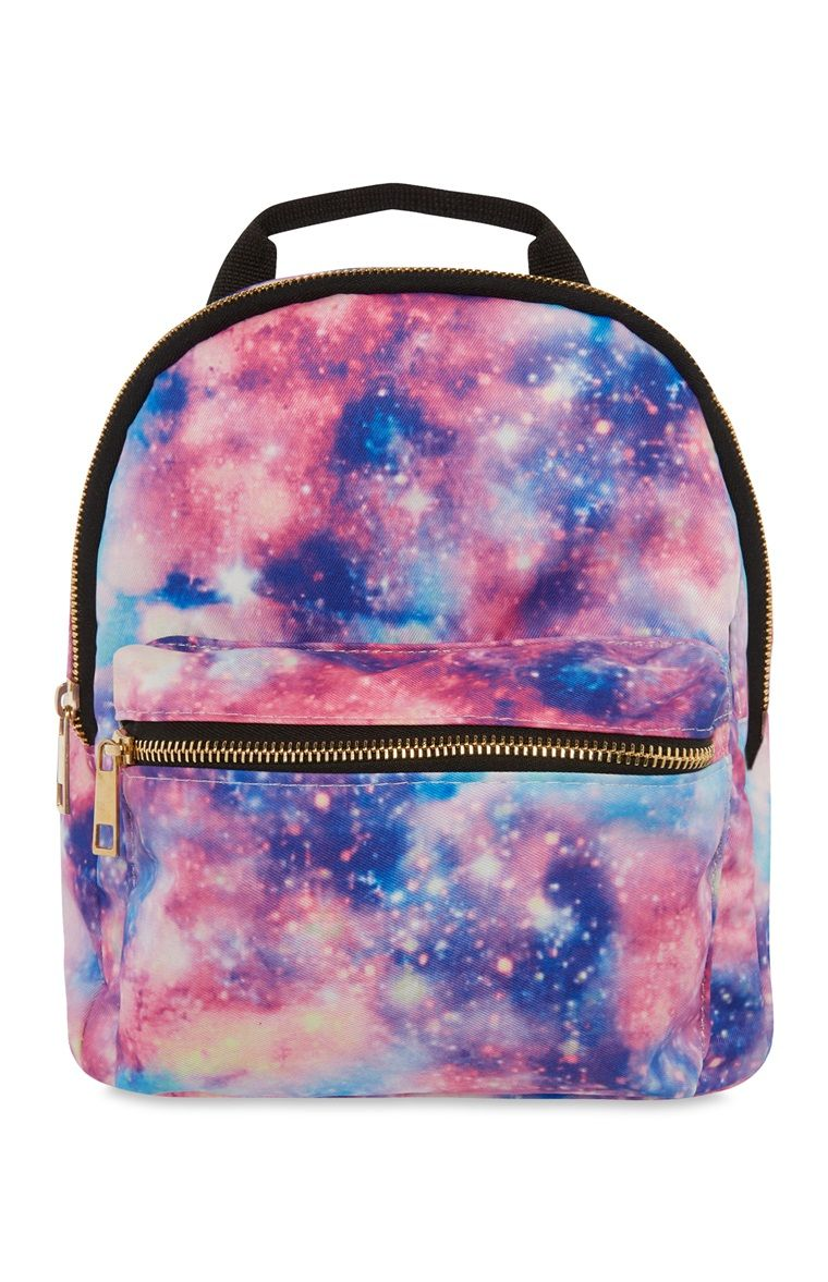 507dd587ac Primark - Galaxy Pattern Backpack