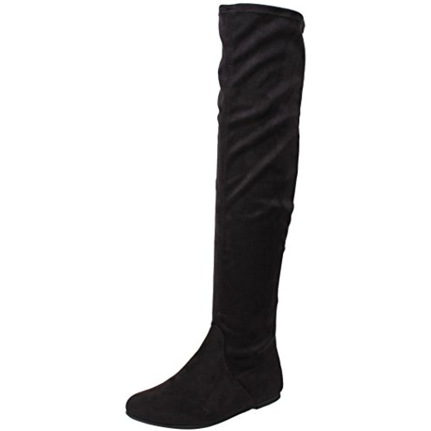 3a5f5fe4060a LAVERNE Women's Open Peep Toe Block Heel Over Knee Tall Boots ** More info  could be found at the image url. (This is an affiliate link…
