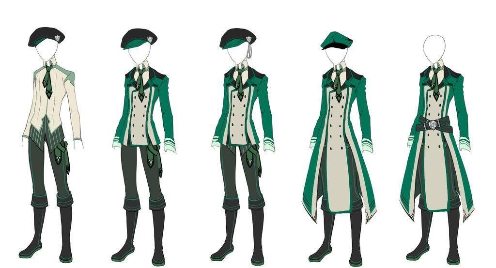 Virens Uniform Male By Lutherum Deviantart Com On Deviantart Far