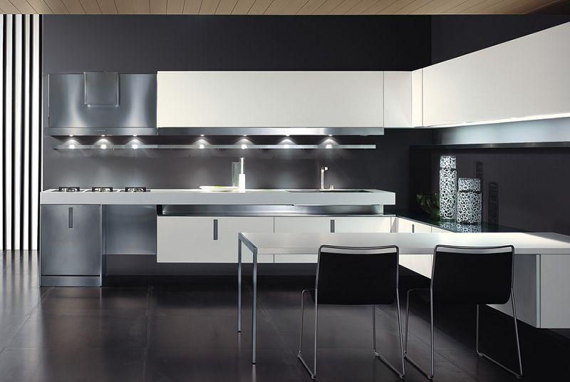 Iluminacion interior cocinas iluminacion led for Casa minimalista interior cocina