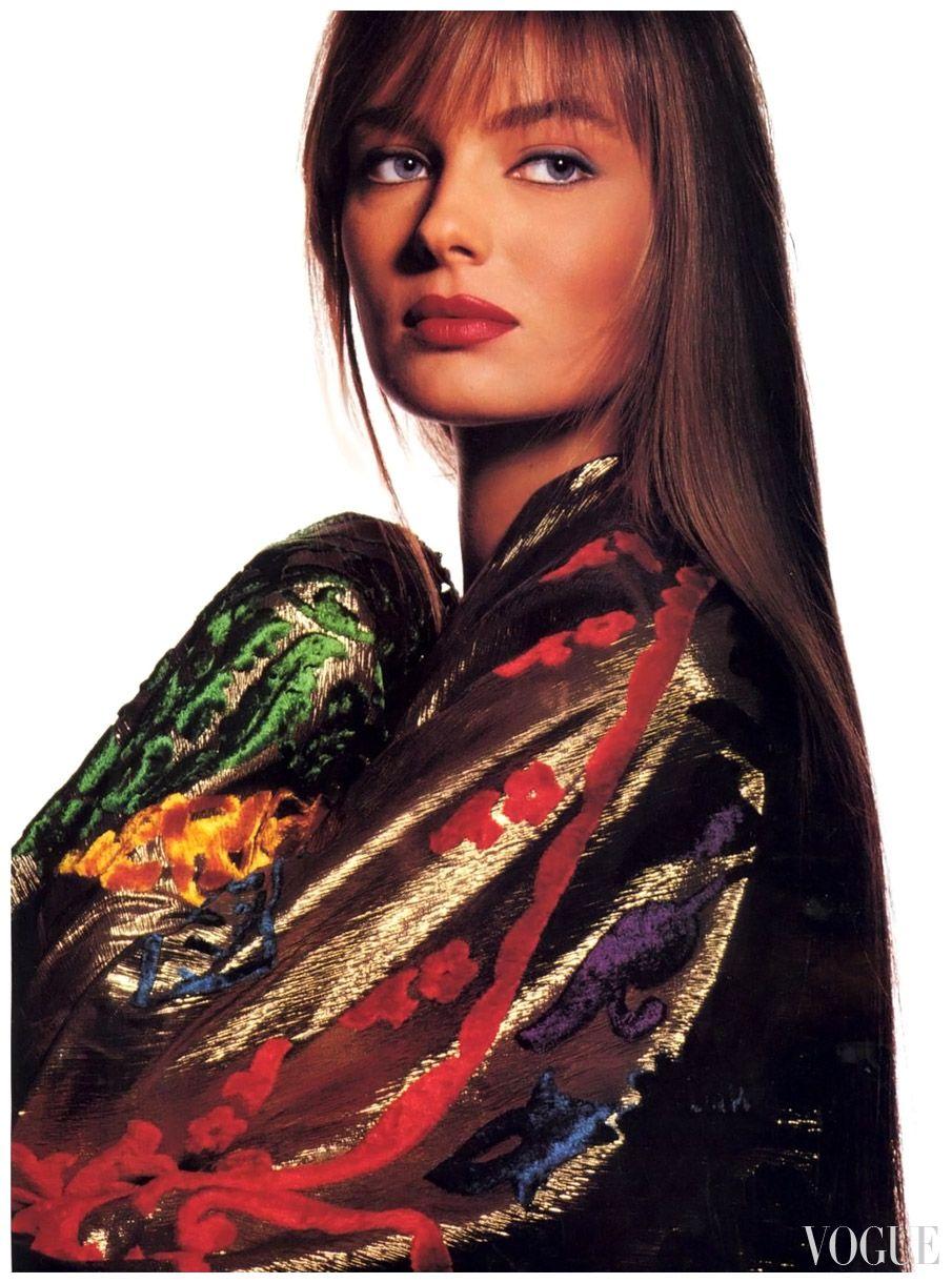 Photo irving penn 1989 paulina pinterest modell - 80er damenmode ...