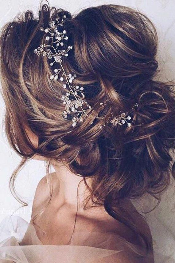 Bridal Hair vine Wedding Hair vine Bridal hair accessories Wedding Hair Accessories Rose Gold Bridal Hair Vine Silver Bridal Hair piece