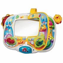 VTech - Look at Me Mirror 3-24 months Mirror mirror on the cot shows who is the cutest tot! Colourful flip page http://www.comparestoreprices.co.uk/educational-toys/vtech--look-at-me-mirror.asp