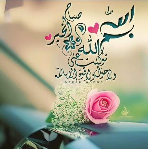 بسم الله توكلت عليه صباحكم ذكر وستغفار و سيأتي بعده الخير والسلامة Beautiful Morning Messages Good Morning Flowers Good Morning Greetings