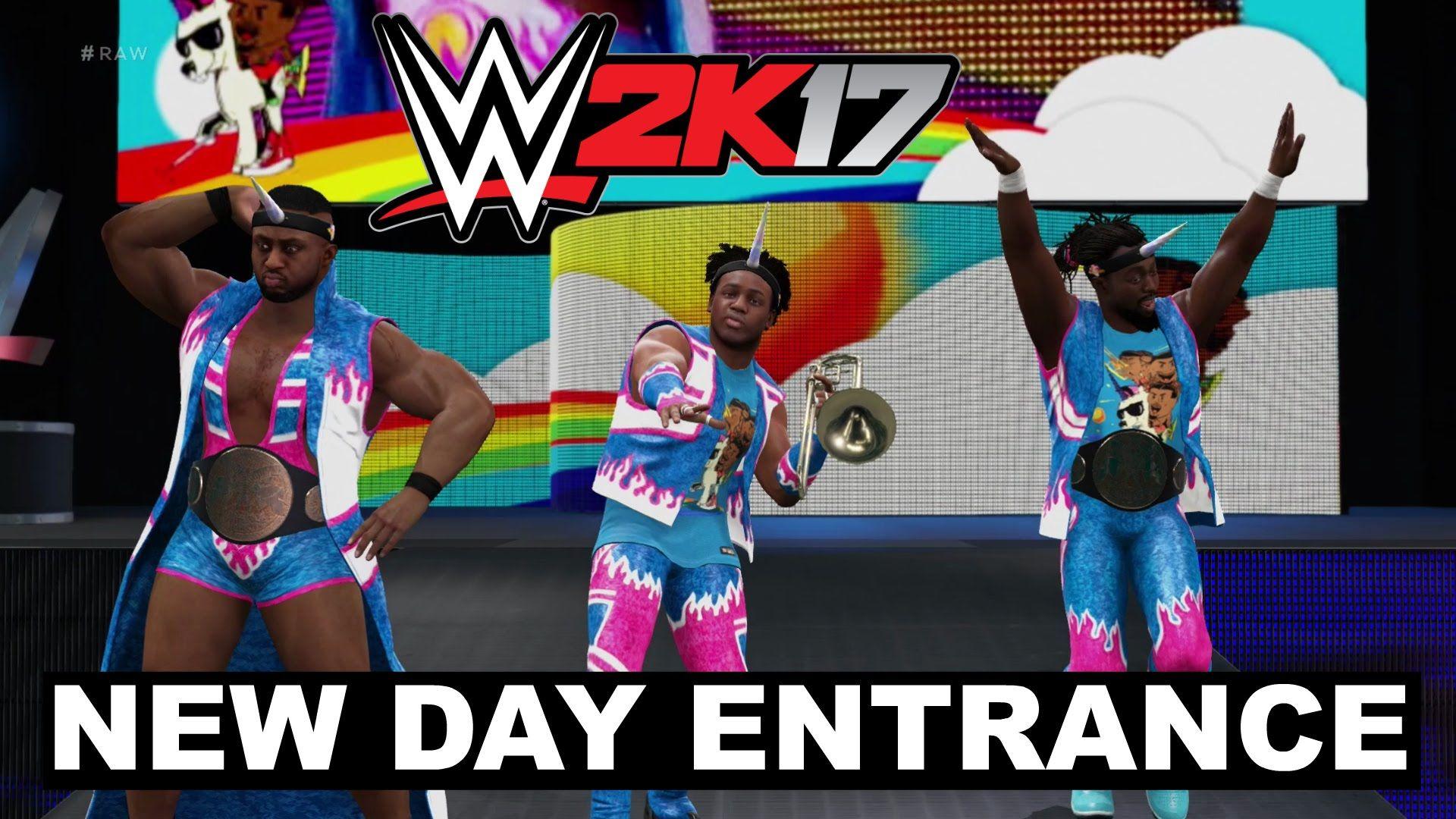 WWE 2K17 New Day Entrance | weeks in wwe 7/7/15 - | Wwe, New