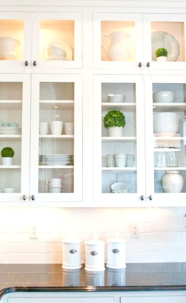 Display In Glass Door Kitchen Cabs In 2020 Glass Kitchen Cabinet Doors Glass Cabinet Doors Glass Kitchen Cabinets