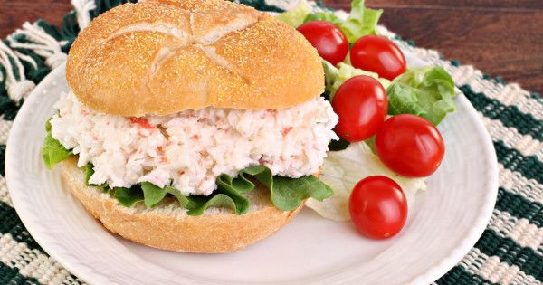 Old Bay Shrimp Salad Recipe With Video Pepperscale Recipe Shrimp Salad Recipes Crab Salad Sandwich Shrimp Salad