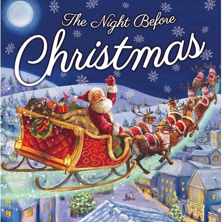 The Night Before Christmas | Christmas books, Christmas ...
