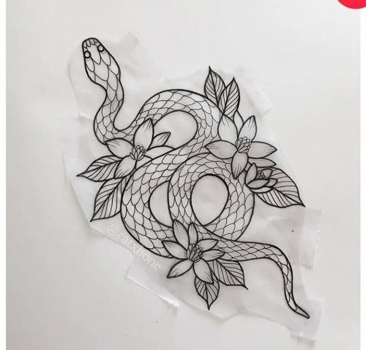 21 Realistic Snake Tattoo Drawing Ideas в 2020г | Вдохновляющие татуи