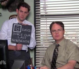 No Nonsense At Dunder Mifflin With Images Office Quotes