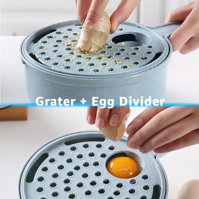 8in1 Vegetable Cutter Potato Peeler Slicer Onion Grater Home Kitchen Accessories