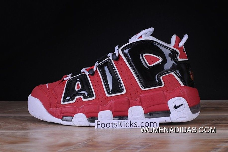fa2af797a8 Mens Nike Air More Uptempo 96 Chicago Bulls 921948-600 Red New Release