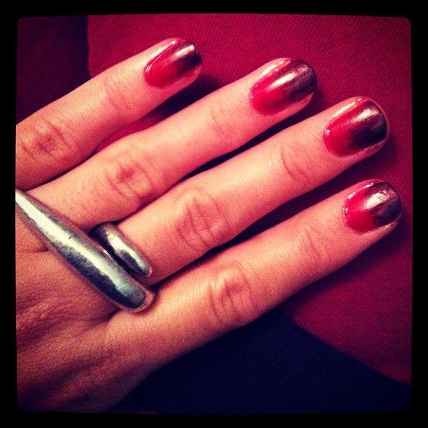 My Dexter nails.