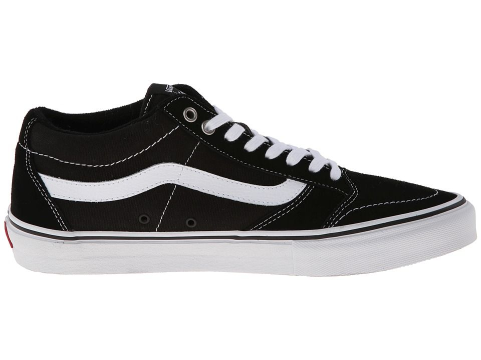 Vans TNT SG Men's Skate Shoes Black/White