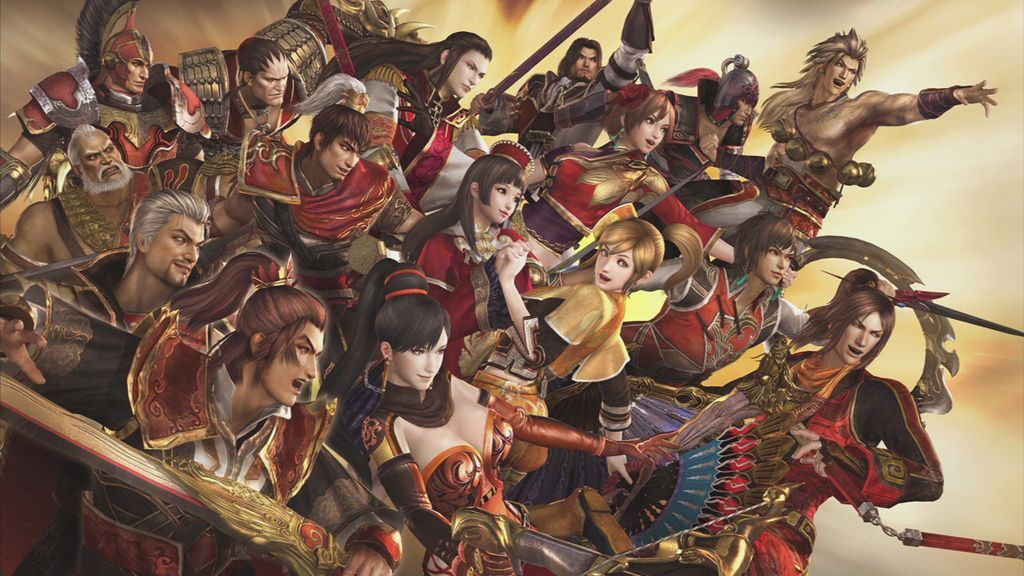 Dynasty Warriors All Characters Wallpaper Osttalesbox From In 1024 576 Dynasty Warriors Wallpapers 46 Wallpapers Dynasty Warriors Warriors Wallpaper Warrior