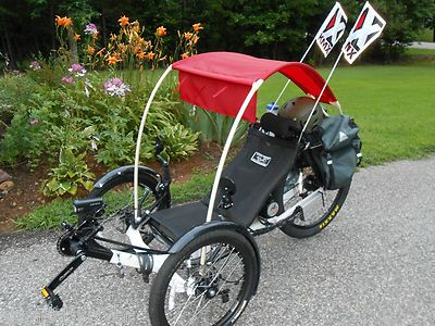 Bimini Top for Recumbent Trike Bike Sun Shade Rain Cover Canopy | eBay & Bimini Top for Recumbent Trike Bike Sun Shade Rain Cover Canopy ...