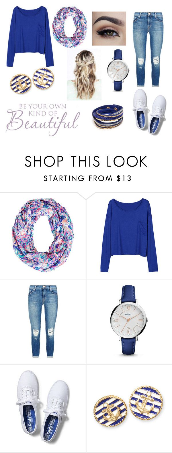 """""""Sassy✌️"""" by a-johnson101904 on Polyvore featuring Lilly Pulitzer, J Brand, FOSSIL, Keds and BillyTheTree"""