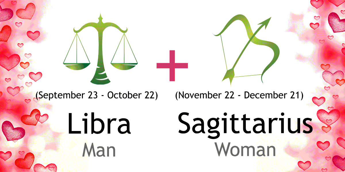 Sagittarius female and libra male compatibility