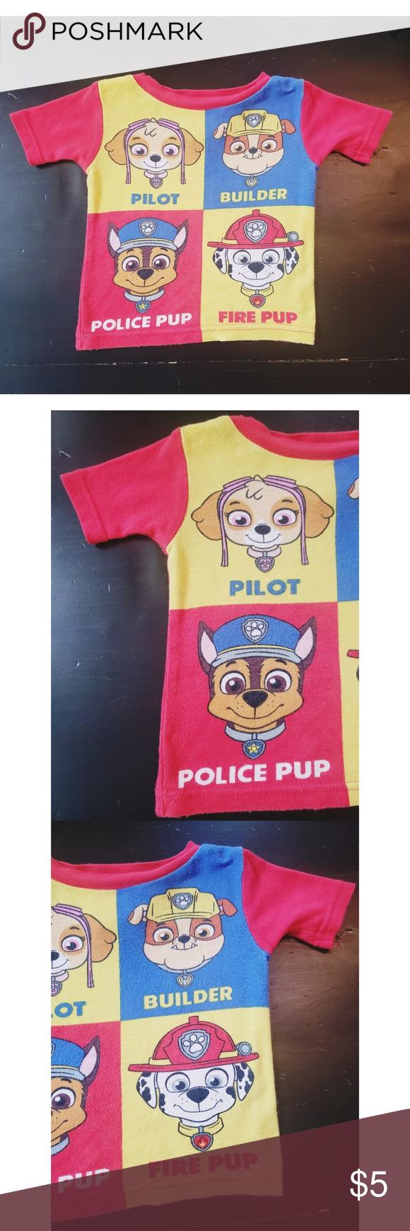 NICKELODEON PAW PATROL 2T T-SHIRT Pre-owned NICKELODEON Paw Patrol size 2T t-shirt in good condition  #1190 Nickelodeon Shirts & Tops Tees - Short Sleeve