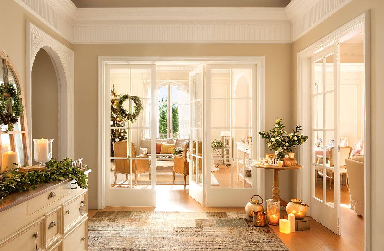 Decoraciones navide as de salones de la revista el mueble for Revistas de decoracion de casas