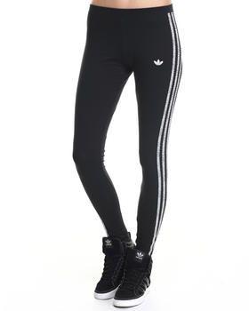 Adidas 3 Stripe Leggings | Striped leggings, Active wear