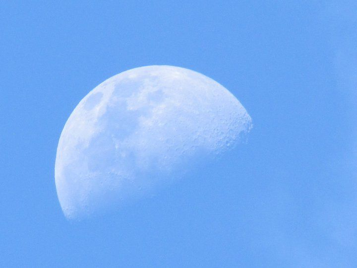 Moon!! Taken by my sister!!!