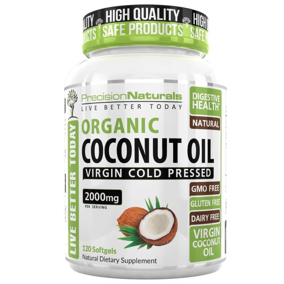 Las 4 Mejores Pastillas De Aceite De Coco Para Adelgazar La Opinión Coconut Oil Capsules Coconut Oil Capsules Benefits Coconut Health Benefits