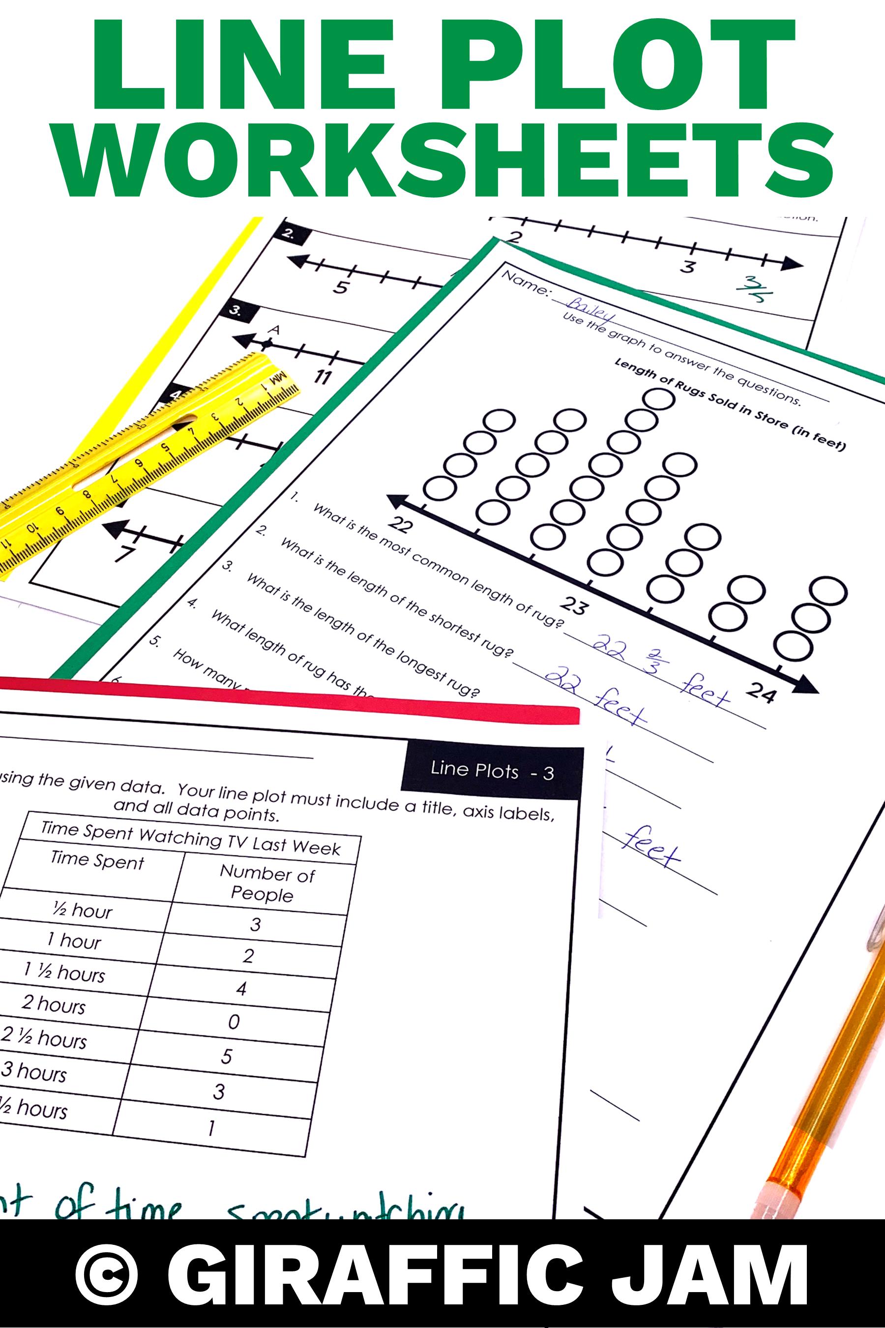 4th Grade Line Plots Interpreting Line Plots Measurement Worksheets 4th Grade Math Works Line Plot Worksheets Measurement Worksheets Measurement Homework [ 2700 x 1800 Pixel ]