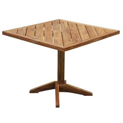 Birman silla plegable sin brazos de madera teka de - Mesa de madera exterior ...