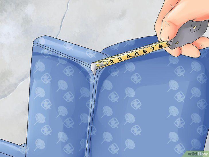 Come Foderare Una Poltrona Fai Da Te.Come Foderare Una Poltrona Wikihow Fodere Poltrone Fodera