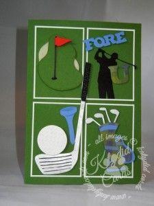 Fore U 1 Golf Cards Theme Ideas Diy Cardmaking