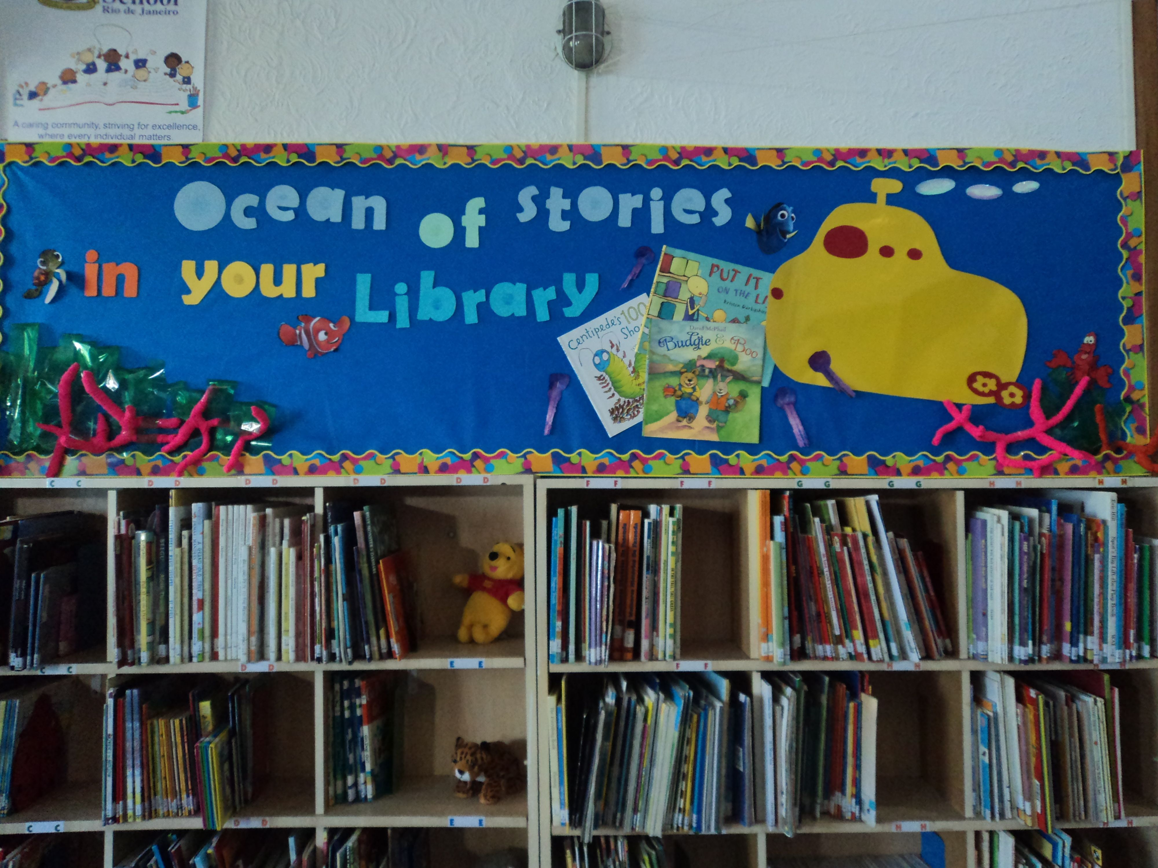 Library Week - Ocean of Stories in your Library.