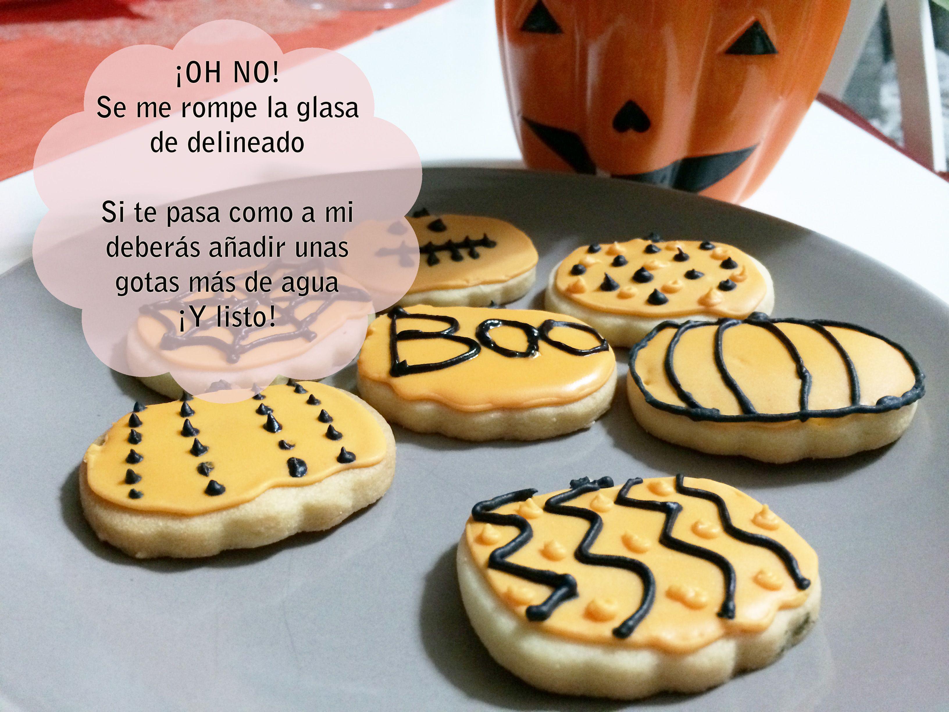 Galletas decoradas halloween / halloween decorated cookies