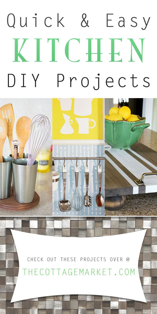 Best Quick And Easy Kitchen Diy Projects Diy Kitchen Projects 400 x 300